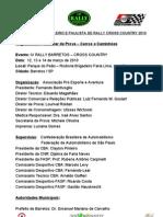 Campeonato Brasileiro e Paulista de Rally Cross
