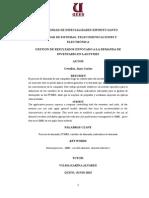 GESTION DE RESULTADOS ENFOCADO A LA DEMANDA DE INVENTARIO EN LAS PYMES