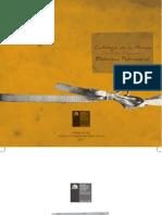 Catálogo Musica Biblioteca Patrimonial Recoleta Dominica pág enfrentada