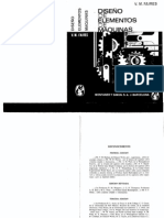 Diseño de Elementos de Máquinas - V. M. Faires (4ta Edición)