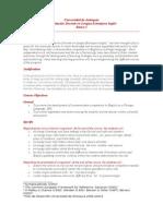 Basics I Program UDEA