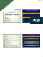 1.1 Presentación Administración y Finanzas