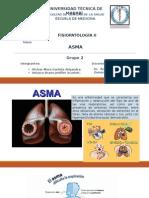 ASMA( fisiopatología)