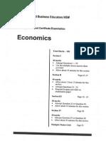 EBE HSC Economics 2007 Trial Paper