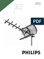 Philips Outdoor Tv Antenna Sdv9201k