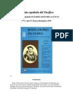 Revista Española Del Pacífico- El Tratado de Tordesillas y Su Proyeccion en El Pacifico