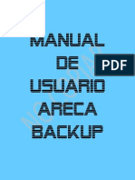 Manual de Usuario Areca Backup