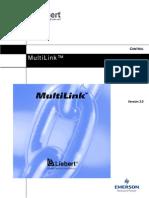 Liebert Multilink - Manual de Usuario