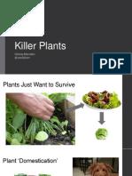 """Christy Marsden, """"Killer Plants"""" slides"""