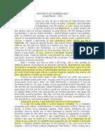 Manifesto Do Surrealismo