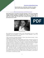 Entrevista con Diana Pinedo Ortega