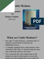 Cable Modem 502