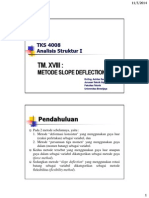 18 Metode Slope Deflection mekanika teknik