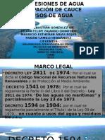 Uso y Concesiones-De Agua, Ocupacion de Cauce (1)