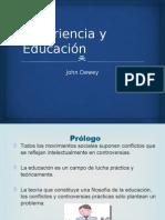 Dewey, J. Experiencia y Educación