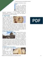 Principales Construcciones en Las Ruinas Mayas de Chichén Itzá