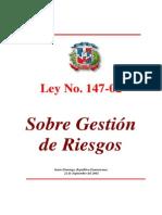 Ley 147-02 Gestion de Riesgos