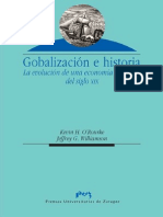 Globalización e Historia. La Evolución de Una Economía Atlántica Del Siglo XIX