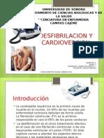 Desfibrilacion y Cardioversion