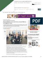 El Periodismo Es Un Servicio, No Una Fábrica _ ELESPECTADOR