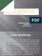 Perencanaan Pembangunan Sistem Penyediaan Air Bersih Beserta