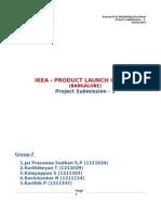Project Proposal (IKEA)