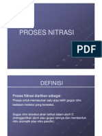 PROSES NITRASI