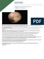01.09.2015 Alien Living Beings on Pluto Likely_ UK Scientists - The Hindu