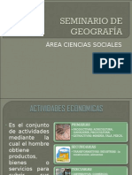Seminario de Geografía