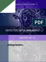 Inmunología - Defectos de La Inmunidad - Diapositivas