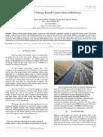 Zigbee Based Energy Based Conservation in Railways