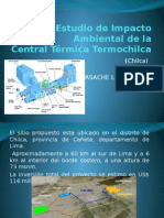 Exposicion EIA Central Térmica Termochilca