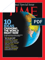 TIME Magazine - 23rd March 2009