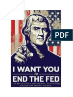 I Want You End the Fed