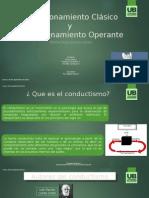 Condicionamiento Clásico. y Operante Pptx