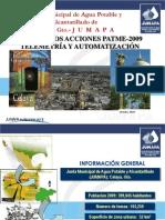 9.14.-Resultados Acciones Patme - 2009 Telemetria y Automatización