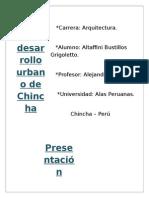 Plan de Desarrollo Urbano de Chincha FINI