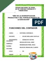 Funciones Del Contador