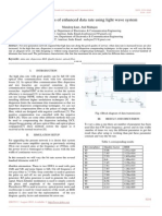 Simulative Analysis of Enhanced Data Rate Using Light Wave System