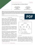 Sentiment Analysis Using Rapid Miner for Polarity Dataset