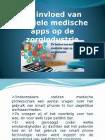 De invloed van mobiele medische apps op de zorgindustrie