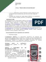 Reporte 1 Medición