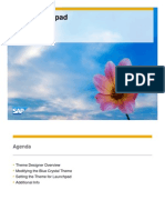 SAP Fiori Launchpad Theming