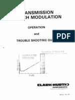 Clark Transmission Clutch Modulation Manual