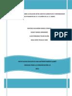 Investigacion Relacion Habitos Alimenticios vs Enfermedades Padecidas