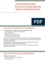 A Study on Rewards and Recognition