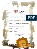 Productos o Sectores Subvencionados en El Peru