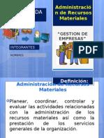 Adm.de Materiales de empresas