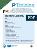 Cap Training Seattle