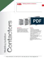 ABB Welding Isolation Contactors